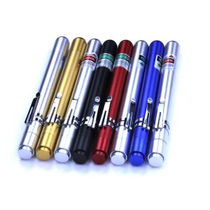 Ella 50mW Green Red Violet Blue laser pointer pen with clip