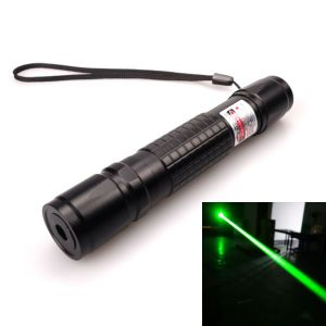 Manny 200mW Green Laser Pointer Zoomable-Focus Black